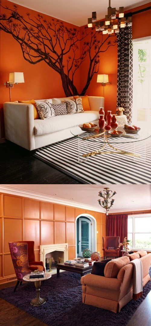 Como Incorporar El Color Naranja En La Decoración
